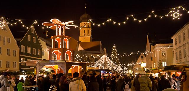 Schongau Weihnachtsmarkt.Weihnachtsmarkt Schongau